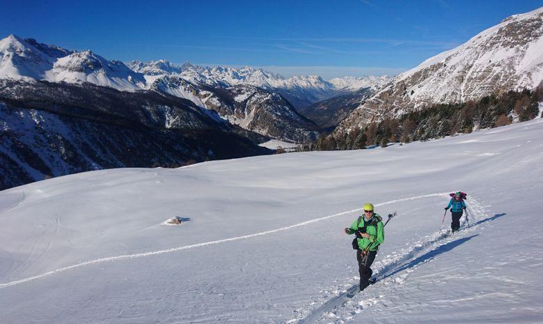 Journée ski de randonnée autour de Serre Chevalier-2