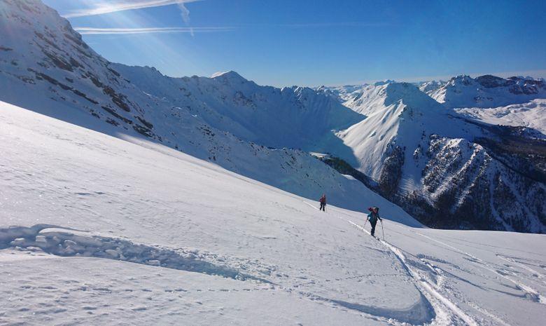 Journée ski de randonnée autour de Serre Chevalier-3