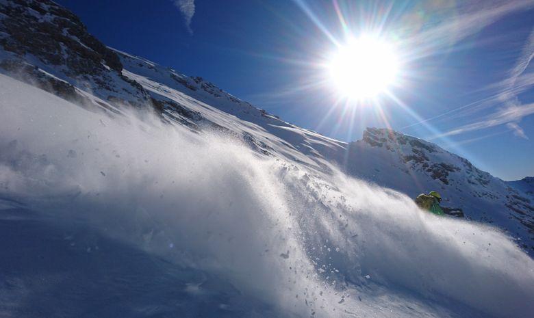 Journée ski de randonnée autour de Serre Chevalier-6