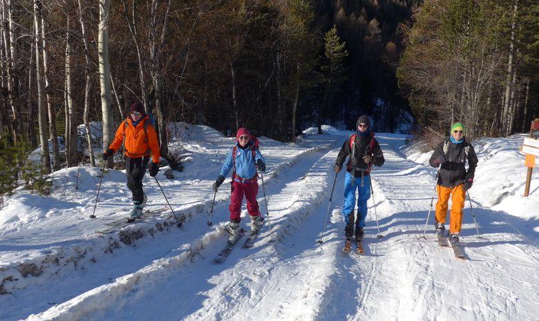 Journée ski de randonnée autour de Serre Chevalier-1