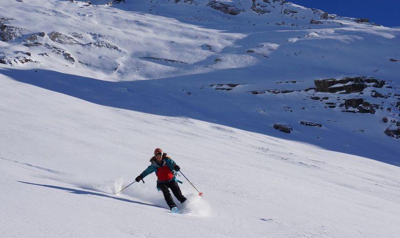 Journée ski de randonnée autour de Serre Chevalier-4