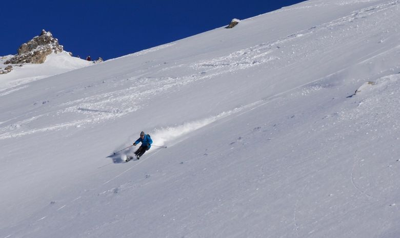 Journée ski de randonnée autour de Serre Chevalier-5