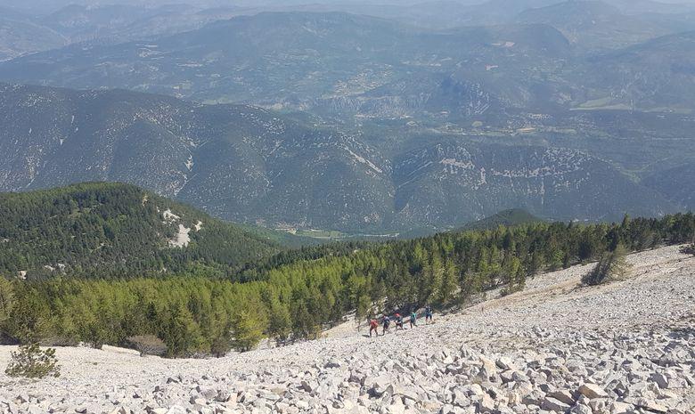 Courir sur les pentes du Mont Ventoux-4