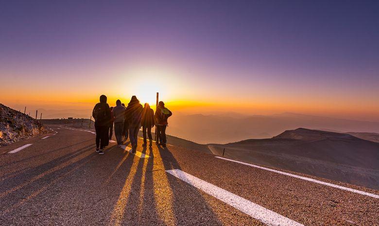 Lever de soleil au sommet du Mont Ventoux-4