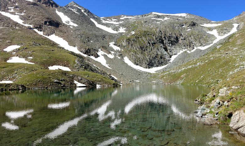 Col d'Entrelor et Lac Noir