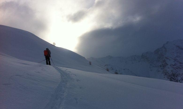 Raquette ou ski de rando tous ensemble à la pause -8