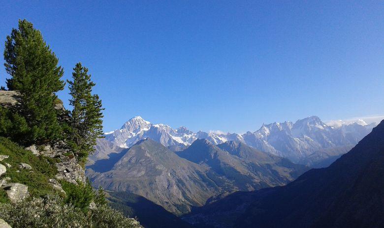 Cascades, lacs et glacier du Ruitor-7