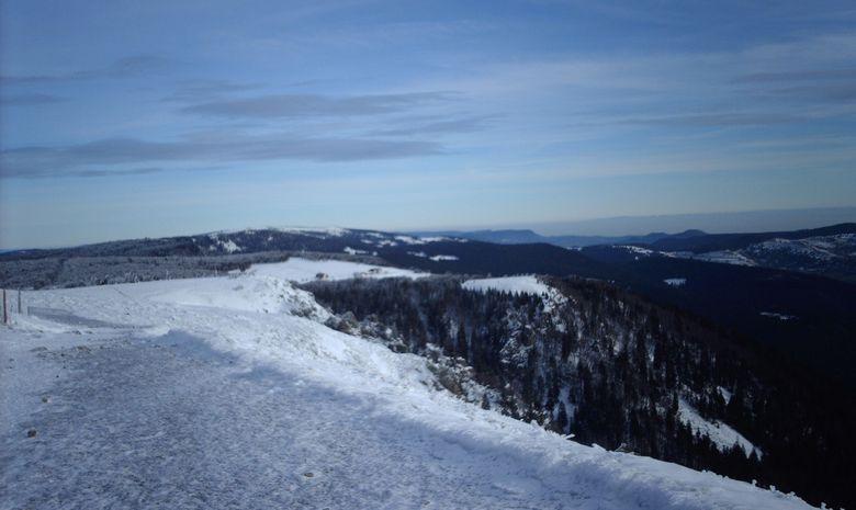 Randonnée en raquette dans les Hautes-Vosges-1