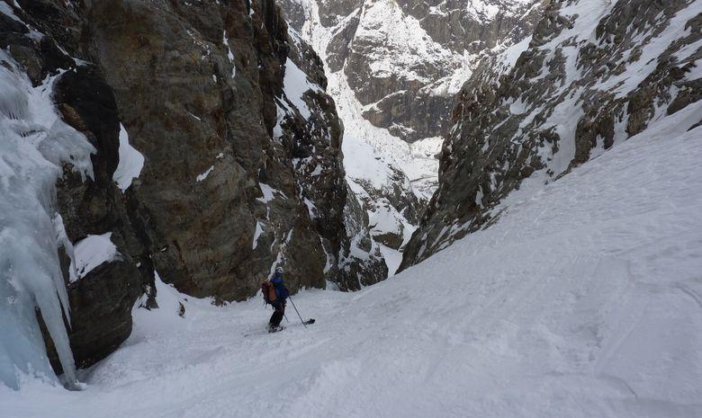 Ski hors piste aux 2 Alpes / La Grave-3