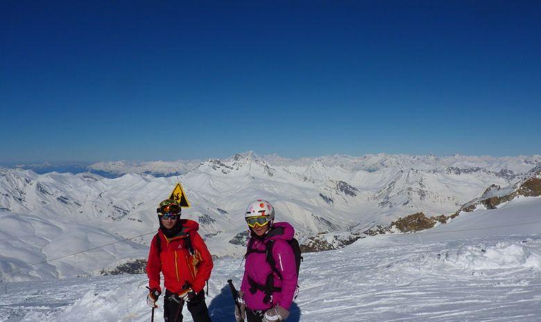 Ski hors piste aux 2 Alpes / La Grave-11