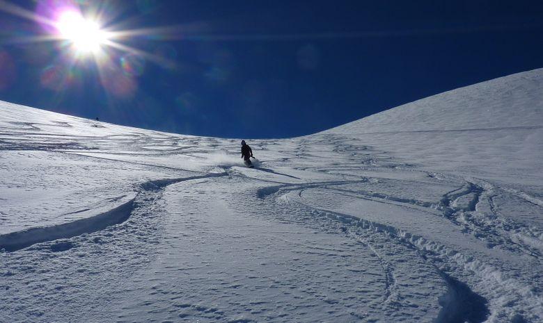 Ski hors piste aux 2 Alpes / La Grave-2