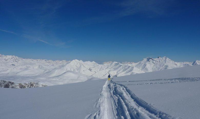 Ski hors piste aux 2 Alpes / La Grave-4