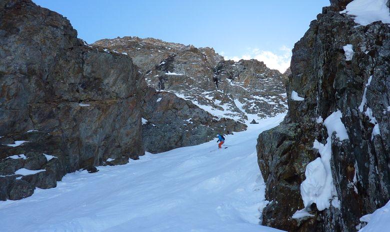Ski hors piste aux 2 Alpes / La Grave-9