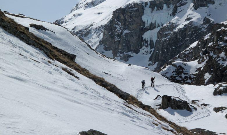 Raid itinérant en Haute Maurienne