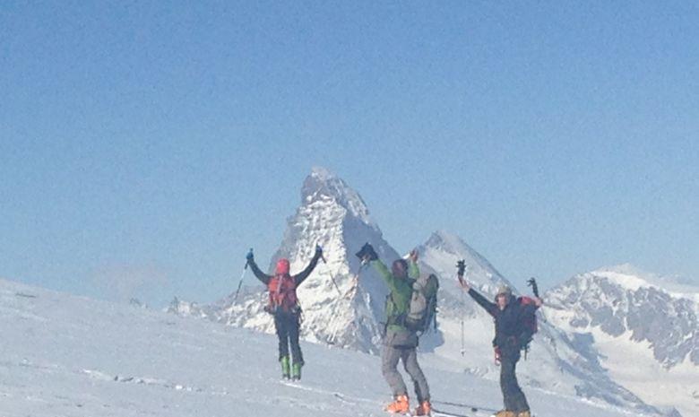 Raid à ski au Mont Rose-1