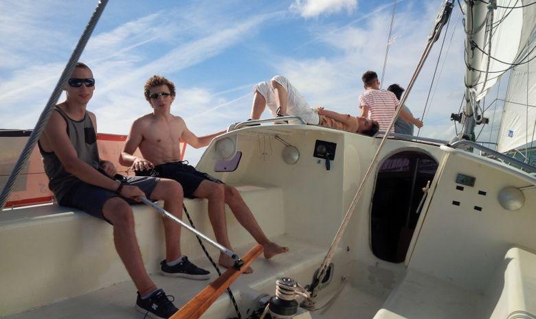 Navigation à la journée à La rochelle-1