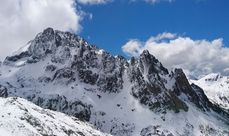 Alpinisme hivernal : Couloir Ouest du Gélas-6