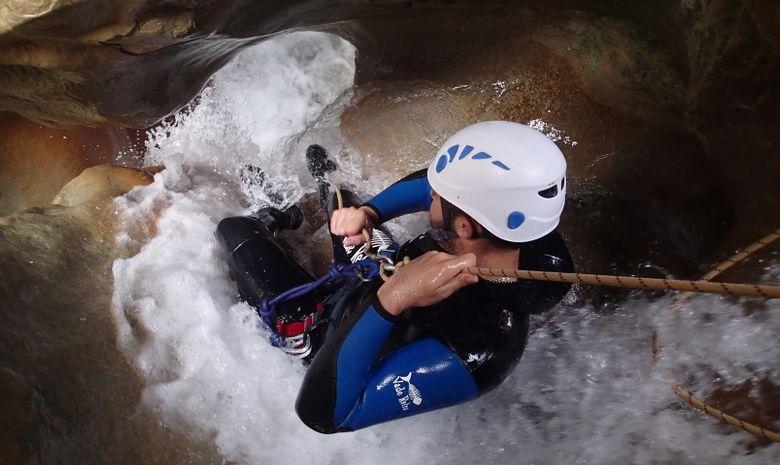 Canyoning en sierra de Guara-5