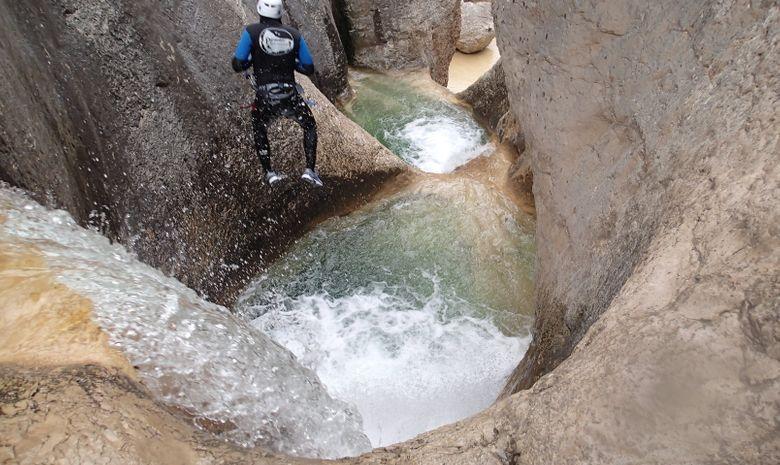 Canyoning en sierra de Guara-7