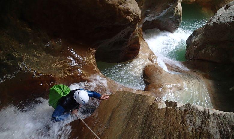 Canyoning en sierra de Guara-8