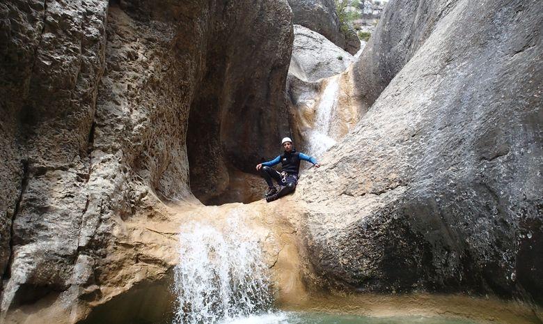 Canyoning en sierra de Guara-3