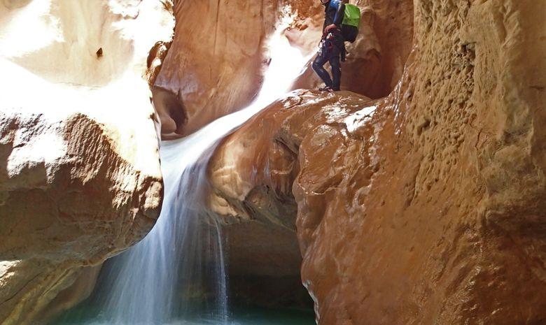 Canyoning en sierra de Guara-4