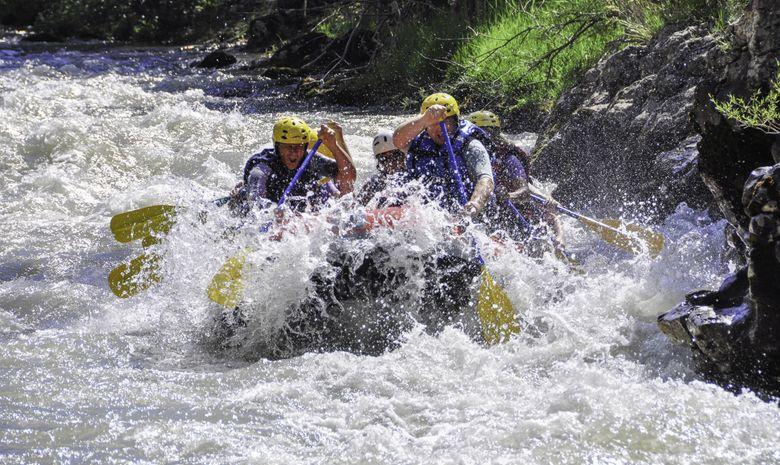 Rafting dans la Vallée du Var-1