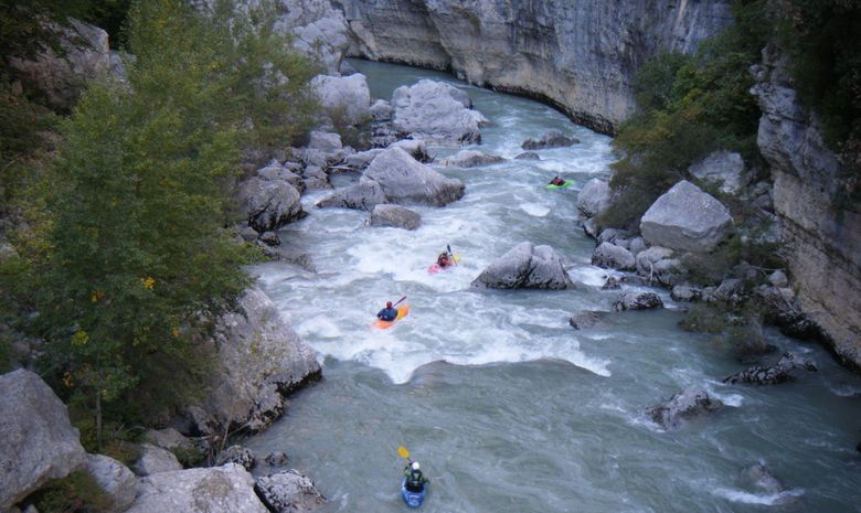 Rafting dans la Vallée du Var-6