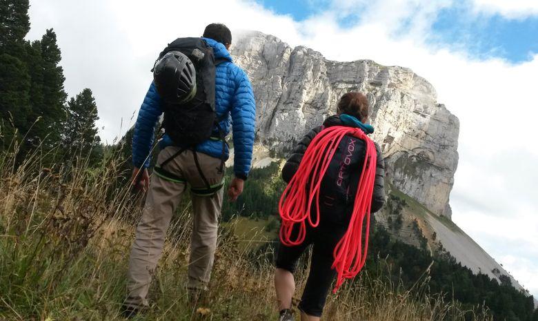 Mont Aiguille par la voie normale-6