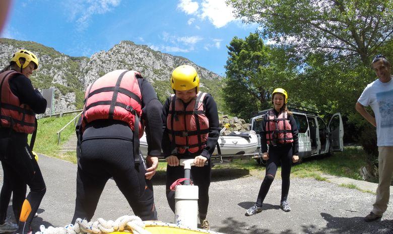 Rafting sensations sur l'Aude-5