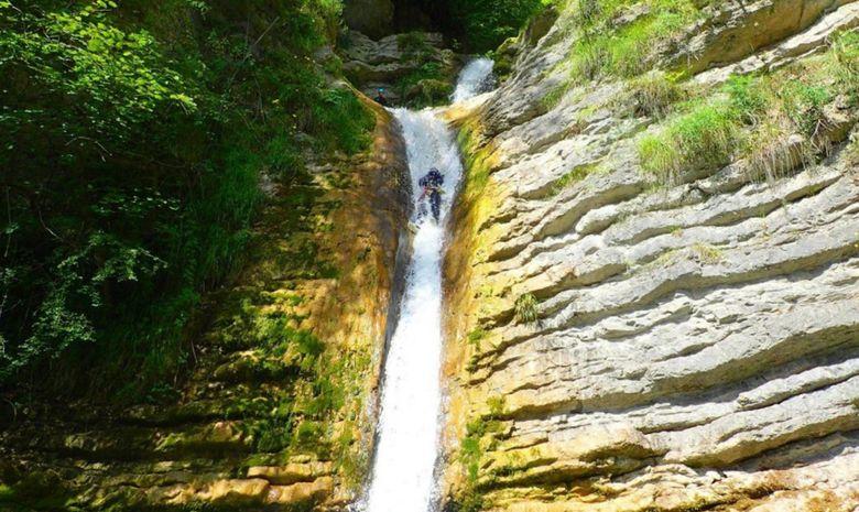 Stage de canyoning sensation en Isère-5