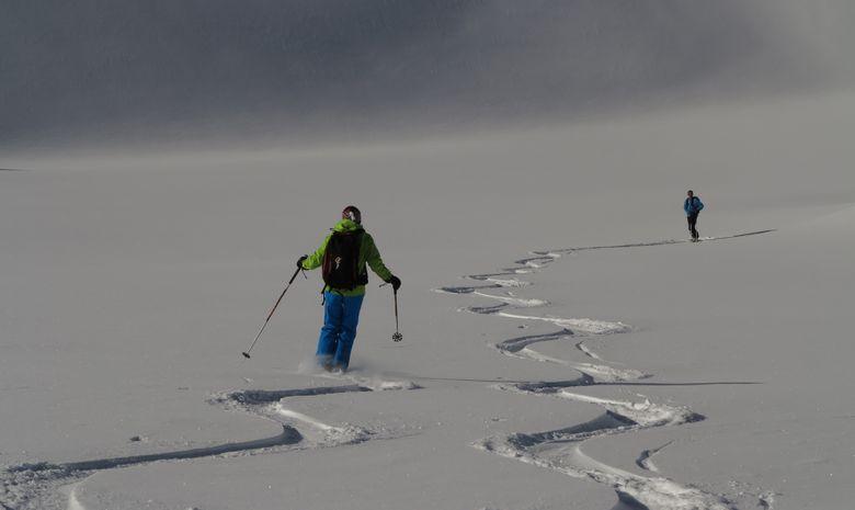 Ski de Randonnée dans les Hautes Alpes-2