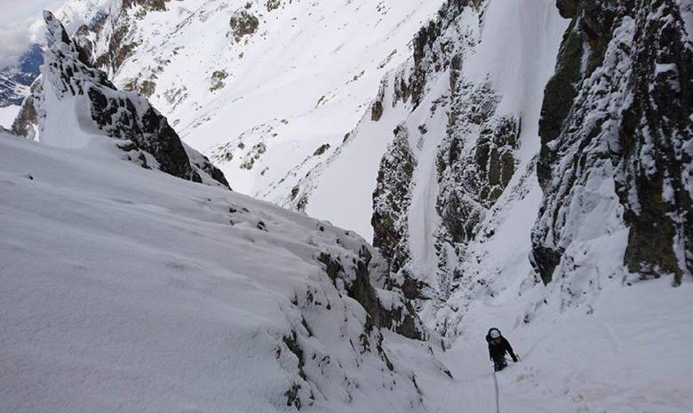 Goulotte Ouest de Gauche à Tavels (2795m)-3