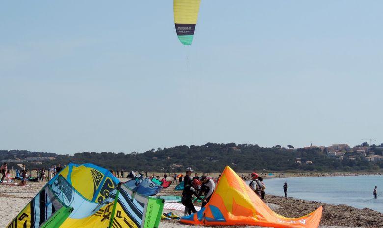 Stage de kitesurf sur le spot de l'Almanarre-8