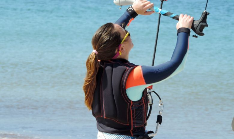 Stage de kitesurf sur le spot de l'Almanarre-7