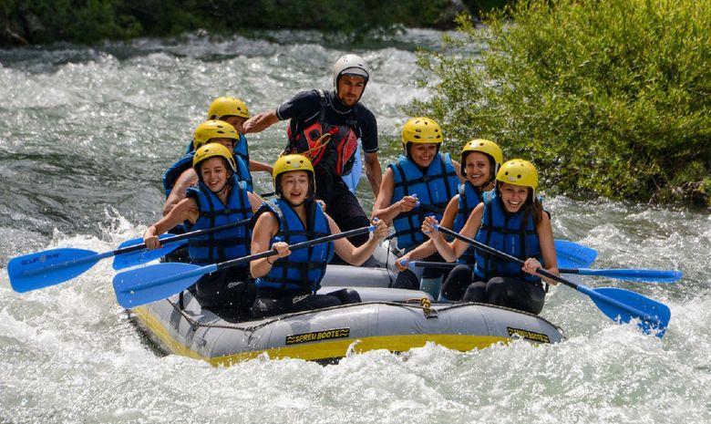 Descente sportive en canoë-kayak dans le Verdon-5