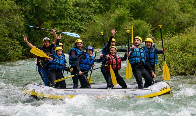 Descente sportive en canoë-kayak dans le Verdon-6