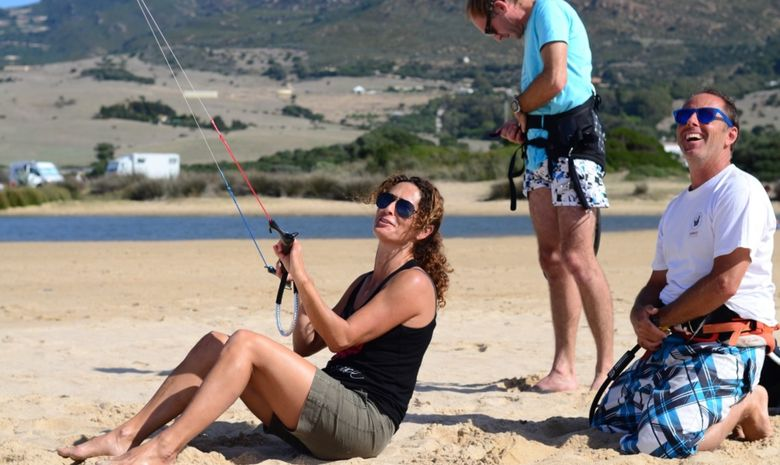 Stage de kitesurf collectif à Tarifa-4