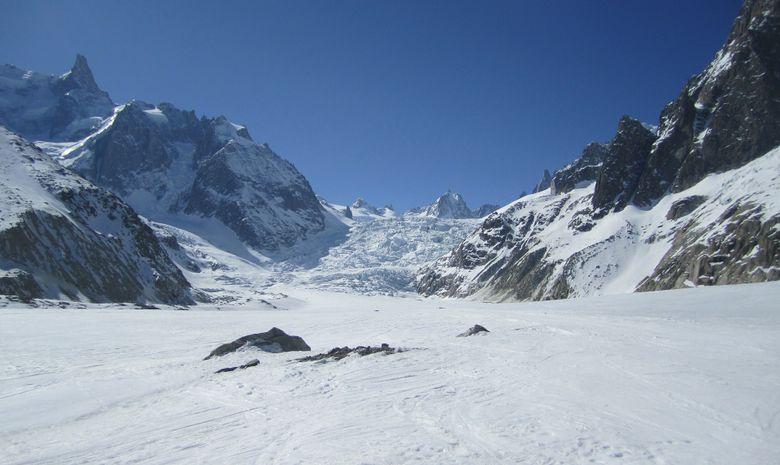 Descente de la Vallée Blanche à ski-3