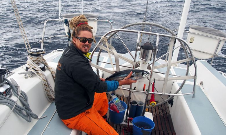 Pêche au thon en transat