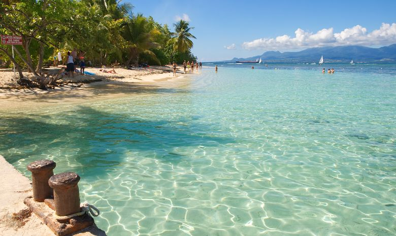 Croisière cabine en Guadeloupe - catamaran 47'