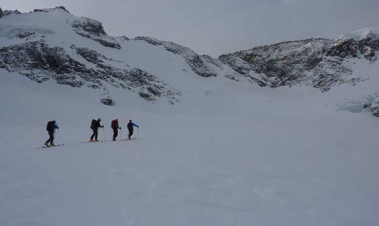 Traversée de l'Albaron à ski-2