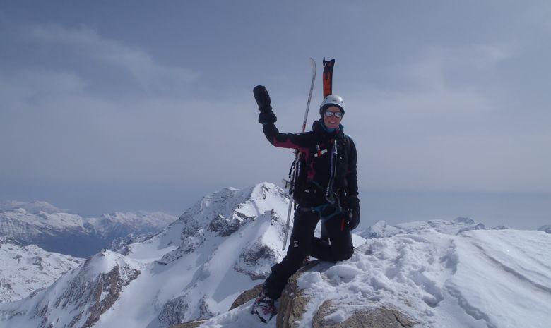 Traversée de l'Albaron à ski-4