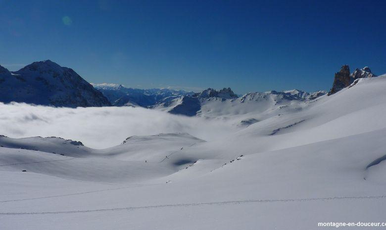 Raid à ski de randonnée et ascension du Thabor-2