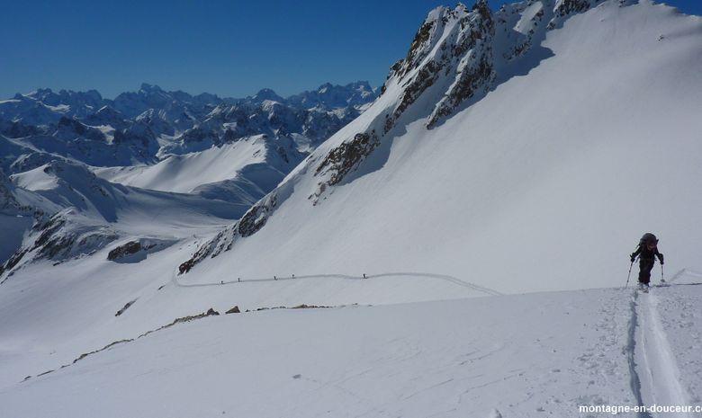Raid à ski de randonnée et ascension du Thabor-6