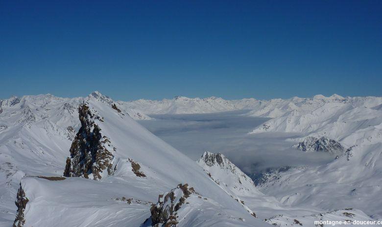 Raid à ski de randonnée et ascension du Thabor-7