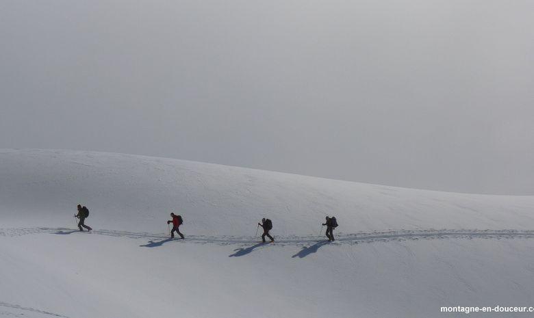 Roche Faurio en ski de randonnée (Ecrins)-3