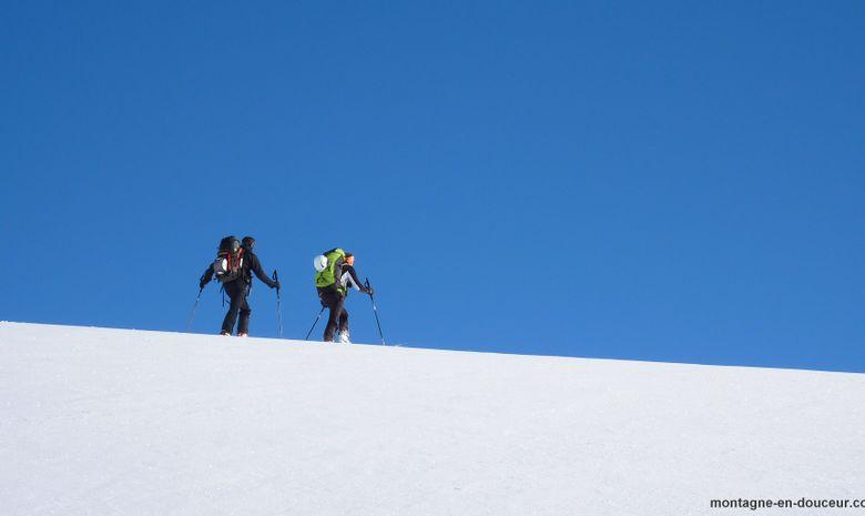 Roche Faurio en ski de randonnée (Ecrins)-1