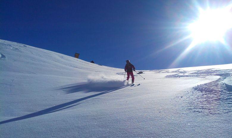 Journée de ski hors-piste à Paradiski-4