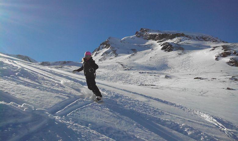 Journée de ski hors-piste espace Killy-3